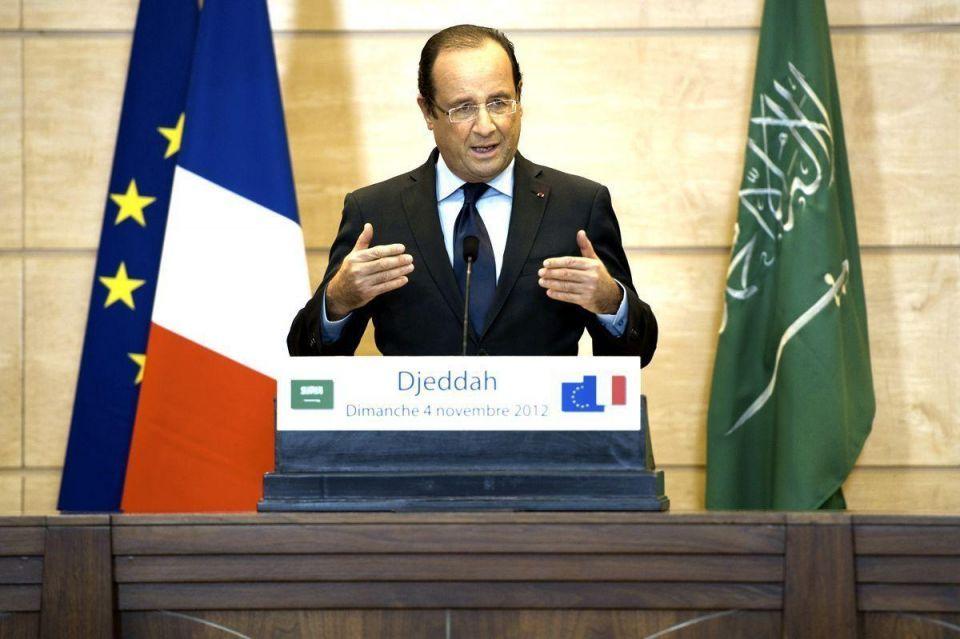 French president set to push Total's UAE bid