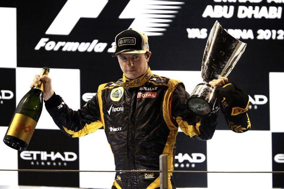 Raikkonen storms to Abu Dhabi F1 glory