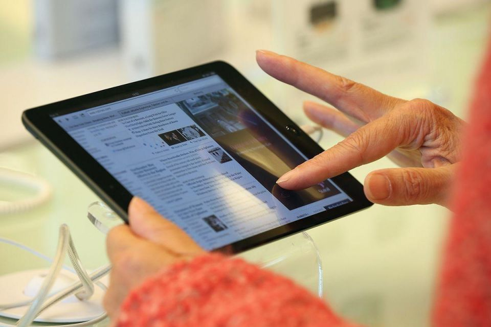 Middle East tablet market rises 90% in 2012