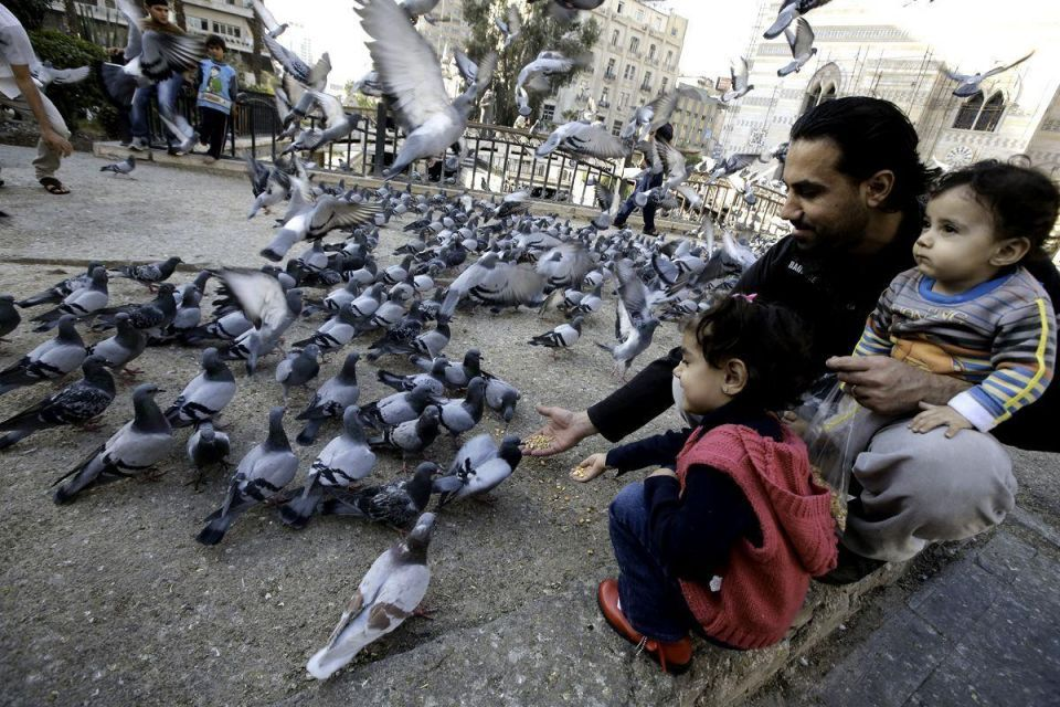 Daily life in Damascus