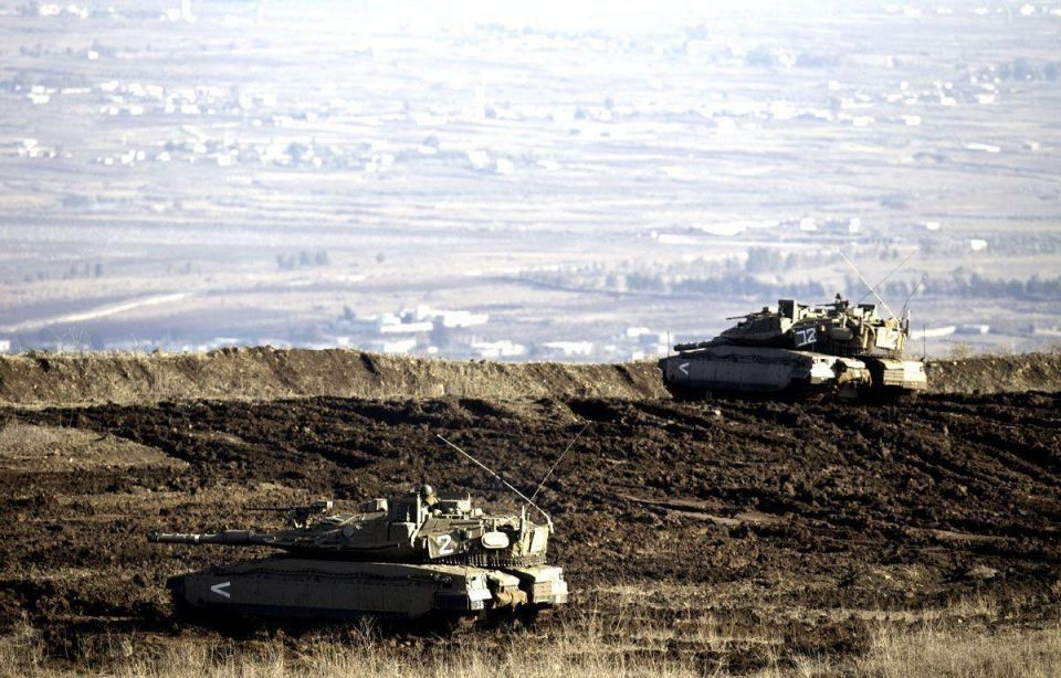 Tensions remain high in Golan Heights