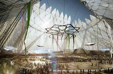 UAE unveils masterplan for World Expo 2020