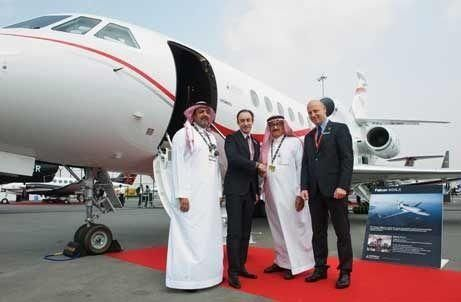 Saudi's Wallan buys two Dassault business jets