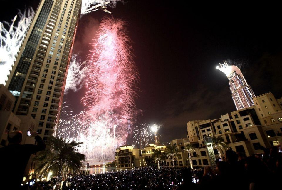YouTube to stream live Downtown Dubai's NYE fireworks