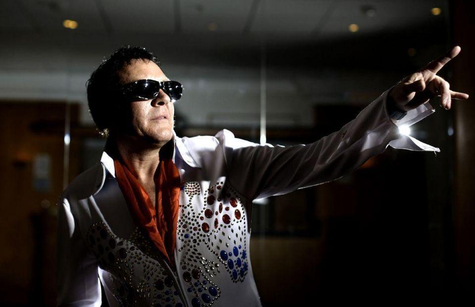 Lookalikes participate in European Elvis Championships
