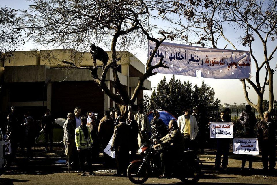 Egyptian opposition protests over new constitution