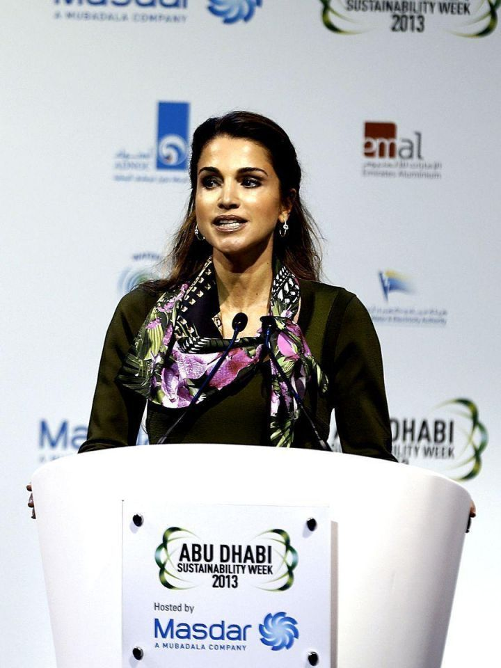 End energy deficit to heal Arab Spring - Queen Rania