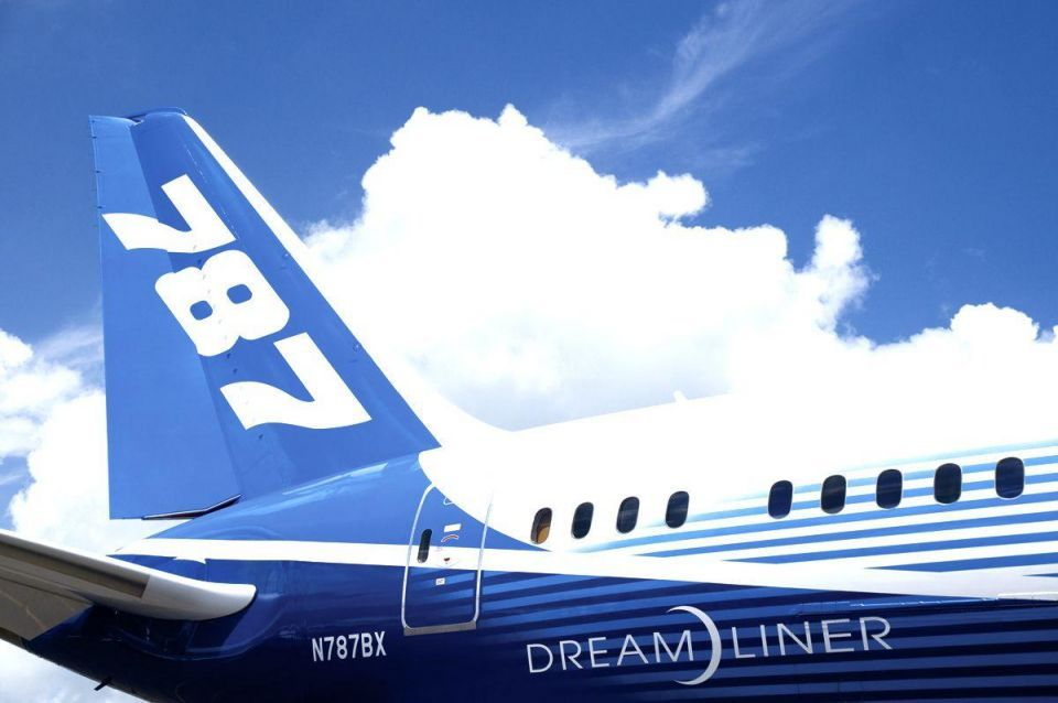 UAE to produce Boeing 787 Dreamliner parts