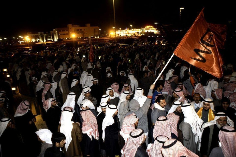 Kuwaiti police use teargas at opposition protest