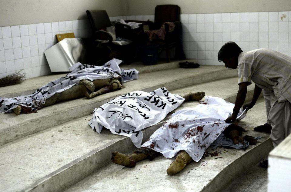 Bomb attack in Karachi kills at least 45 people