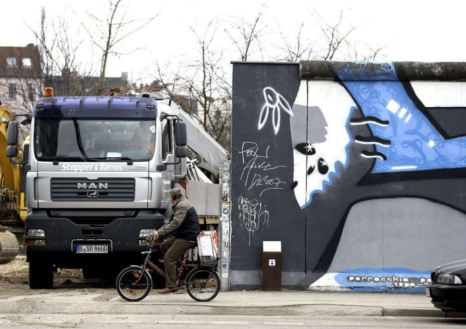 Berlin Wall section to make way for development