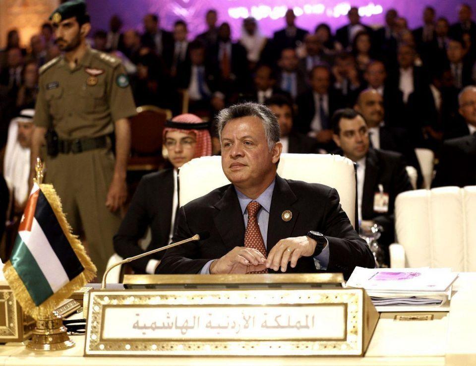 Jordan's king makes new plea to solve Syrian crisis