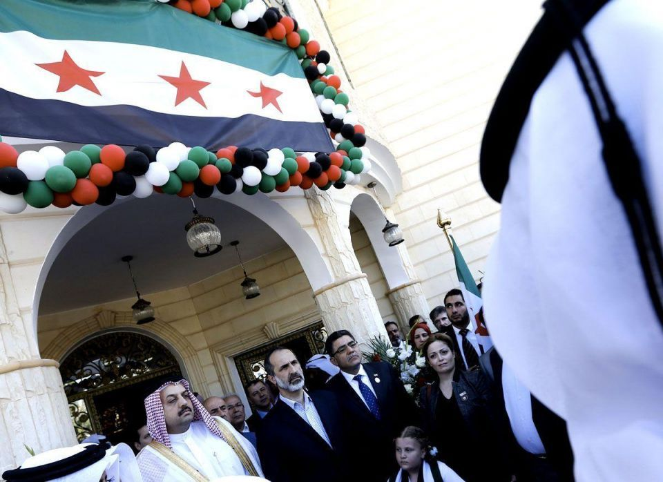 Syrian opposition opens first embassy in Qatar