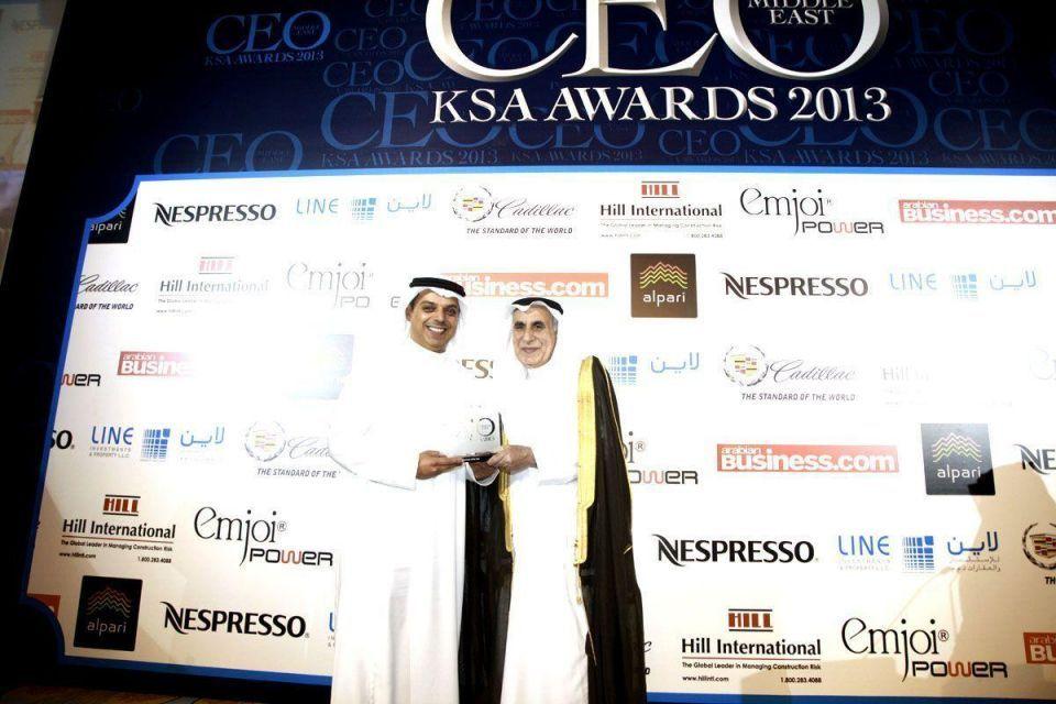 Arabian Business CEO Saudi Awards 2013