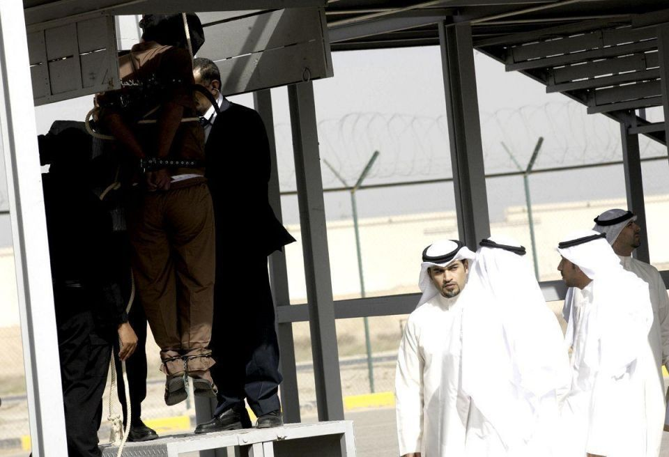Kuwait executes three for murder (WARNING GRAPHIC IMAGES)