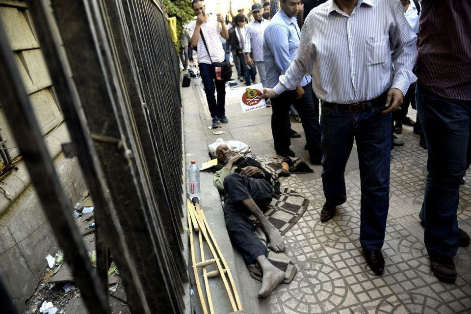 Egyptians protest against IMF visit