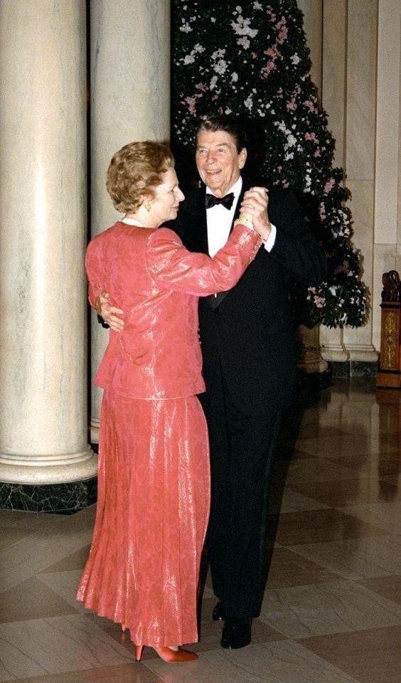Margaret Thatcher on the world stage