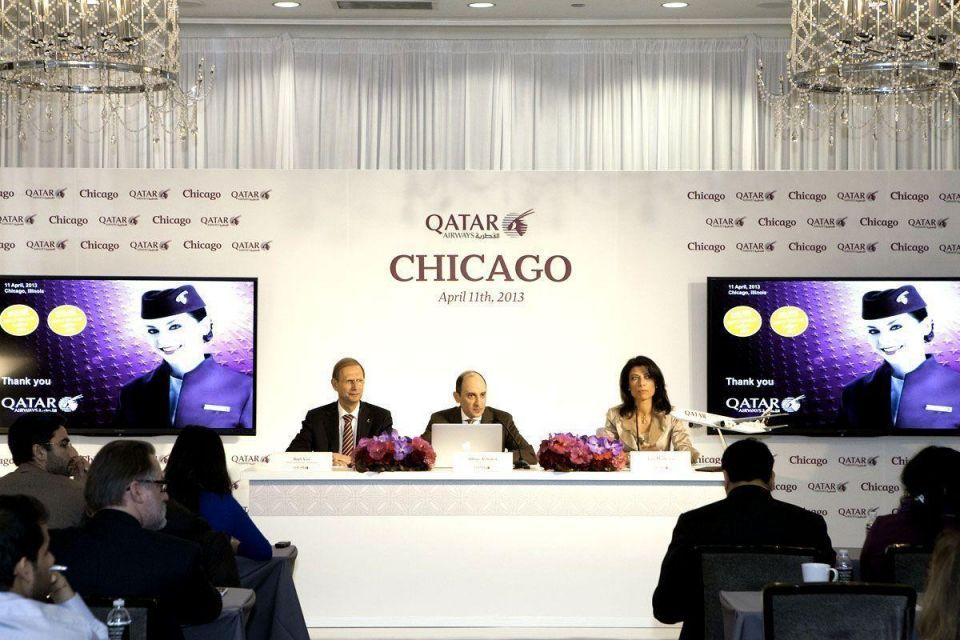 Qatar Airways celebrates Chicago launch