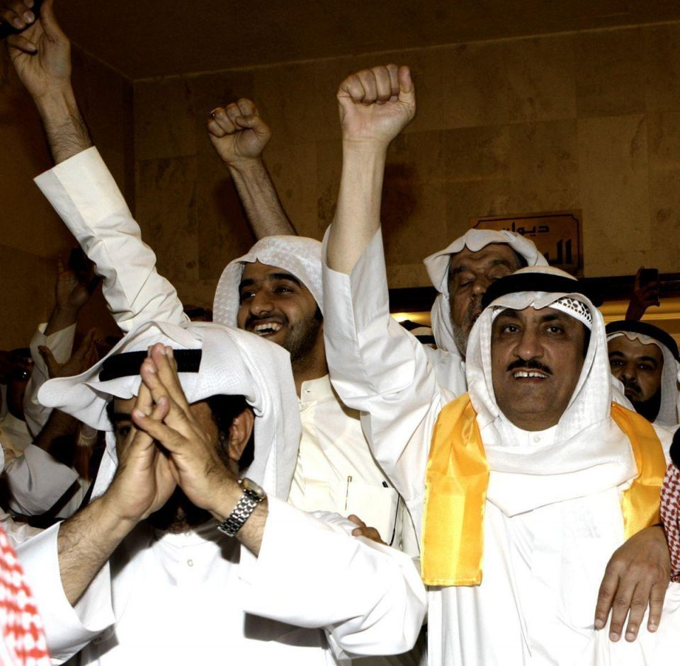 Kuwaitis protest after politician jailed for insulting ruler