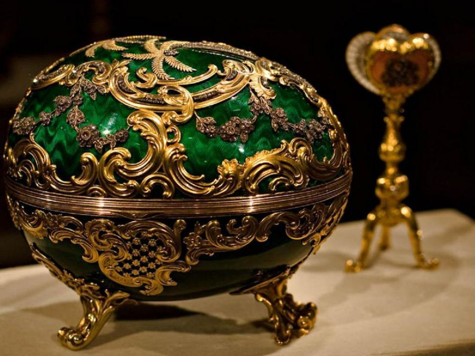 Stolen Kuwaiti $1.3m golden egg found after 4 years