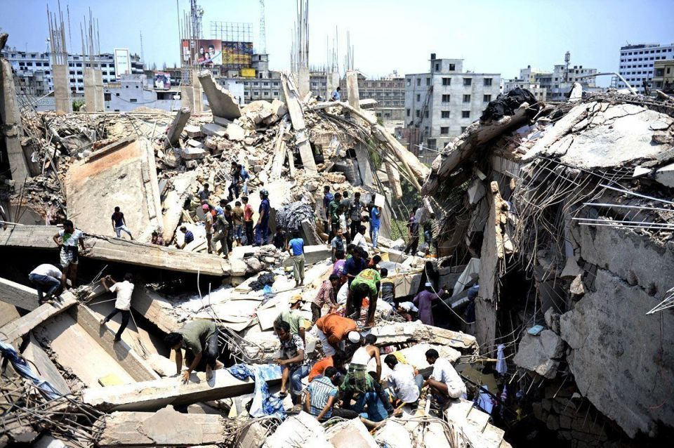 Scores killed In Dhaka building collapse
