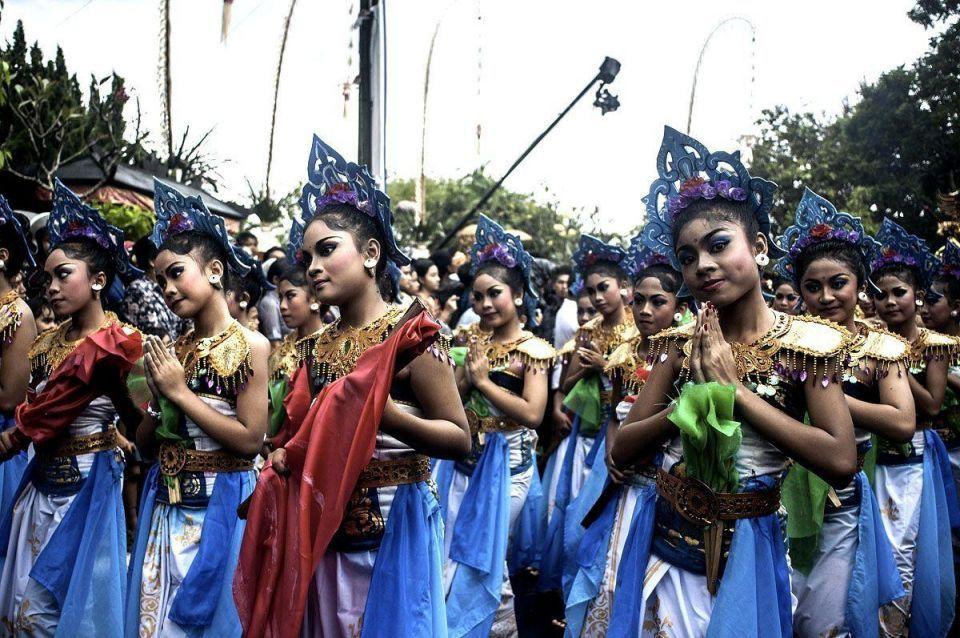 Bali's international art festival