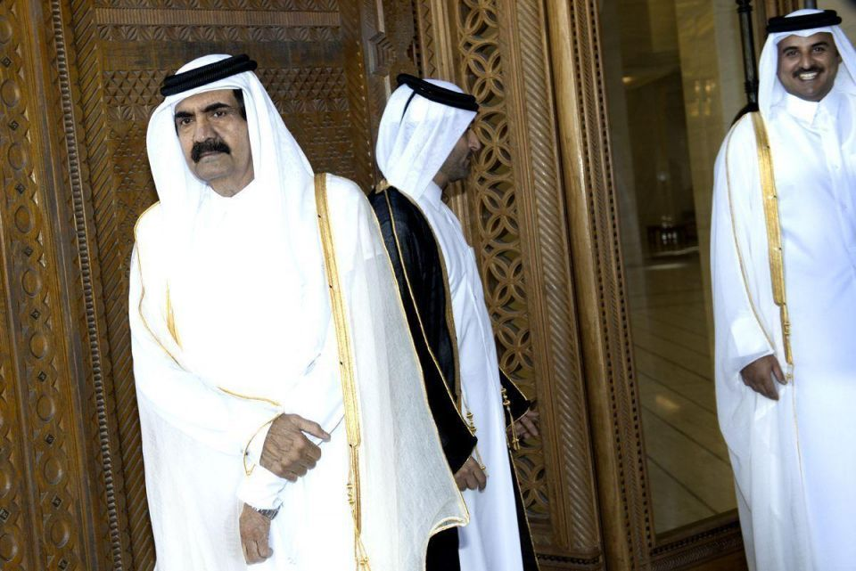 Qatar's outgoing emir in pictures