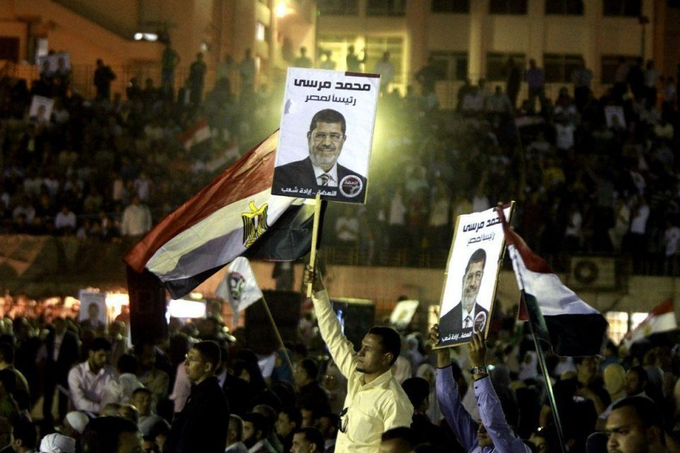 Lawyers for Egypt's deposed President Mursi stage walk-out