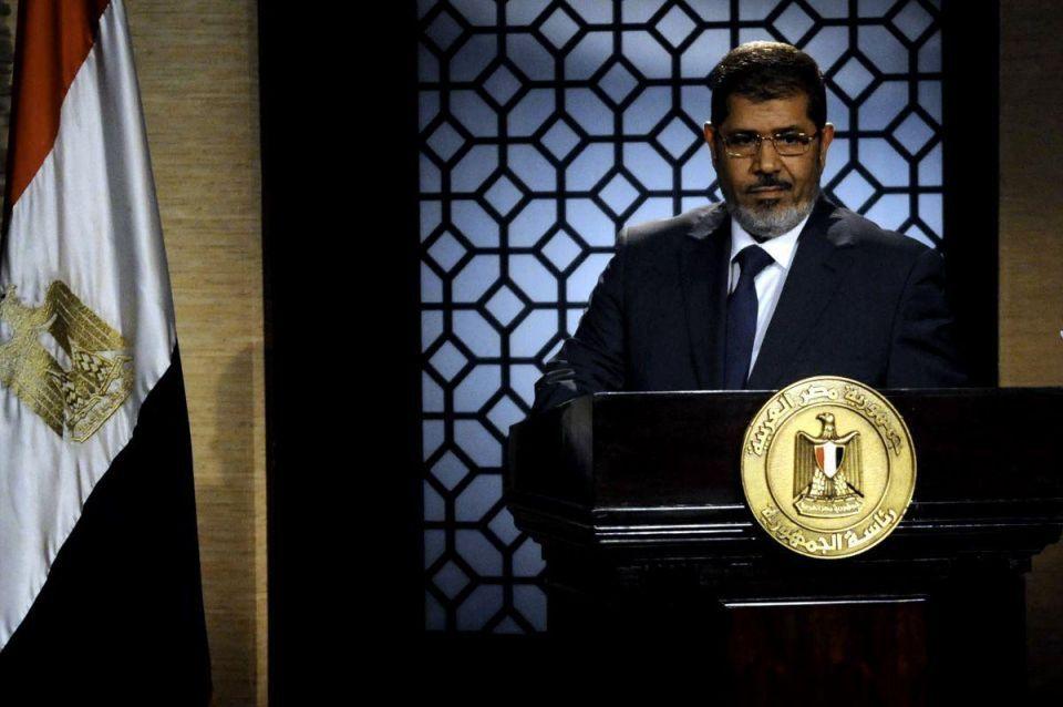 Former Egyptian president Mohamed Morsi dies