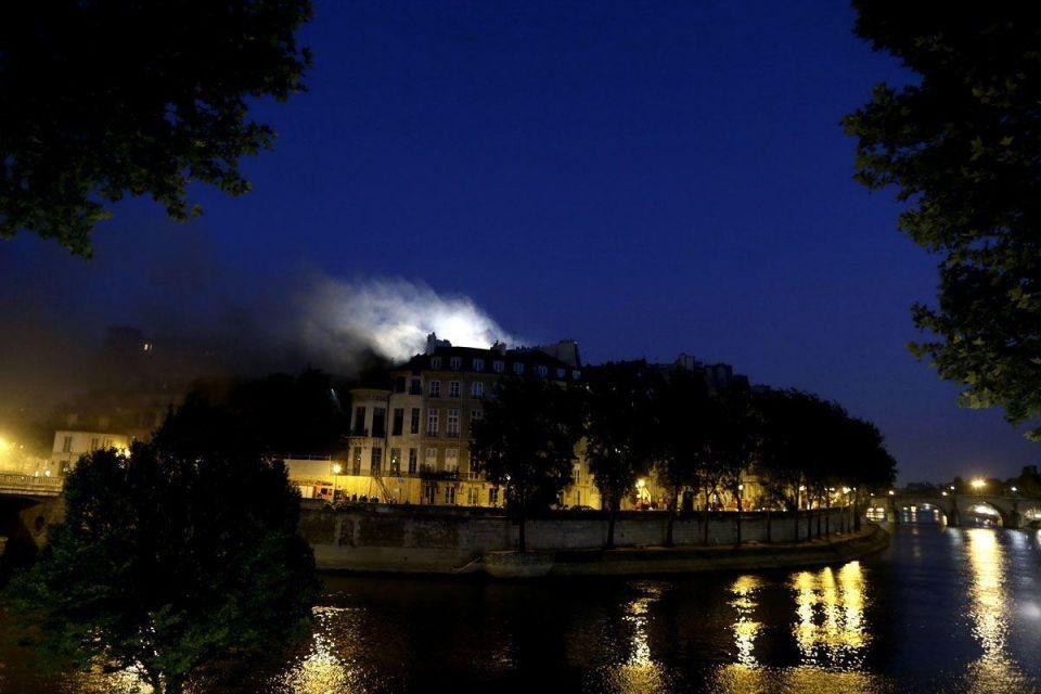 Inferno at Qatari prince's Paris hotel