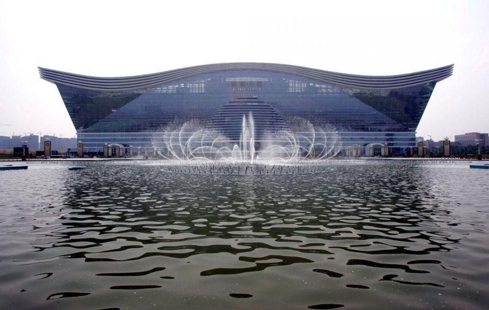 World's biggest building opens in China