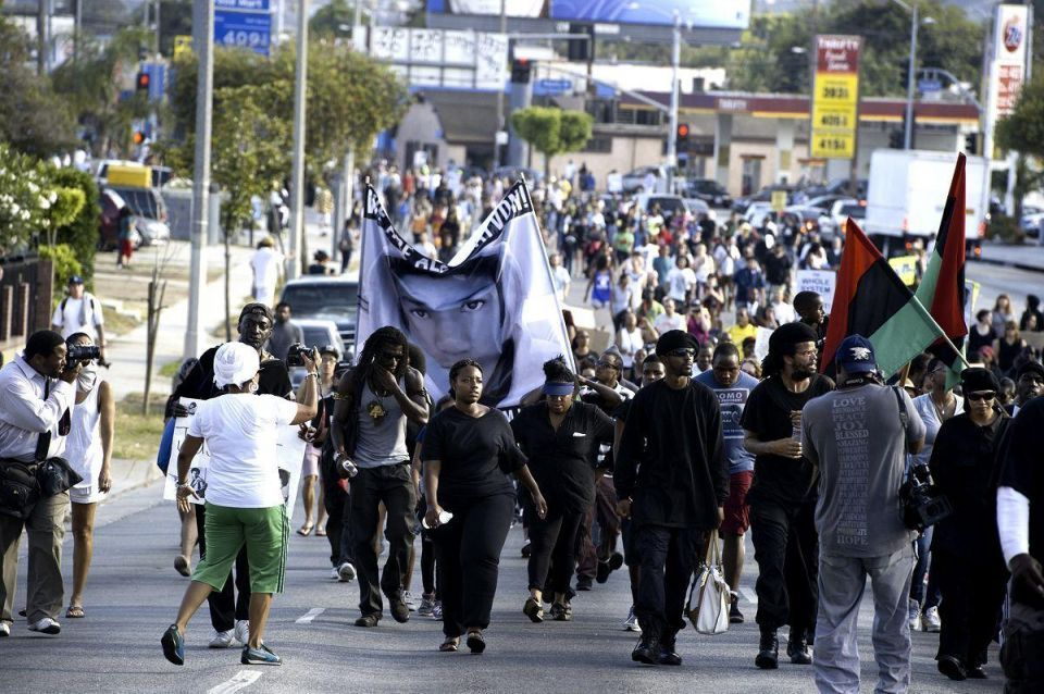 Protests following Zimmerman acquittal
