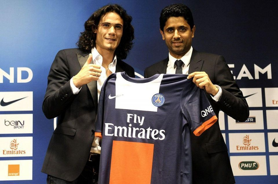Qatar's PSG splash out $83m on striker Cavani