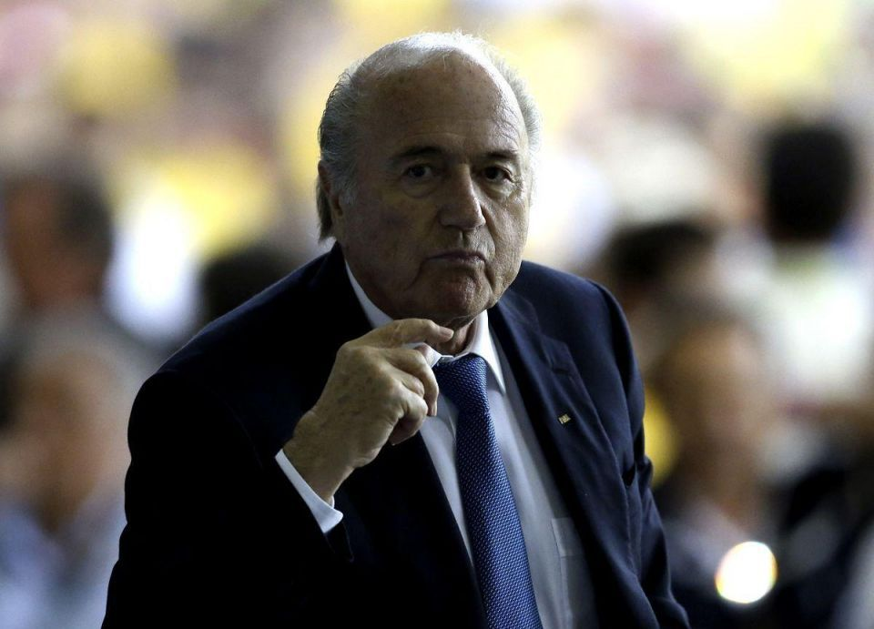 Blatter vows to 'create good working conditions' in Qatar
