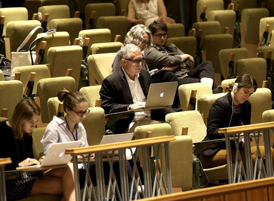 UN debate on protection of journalists