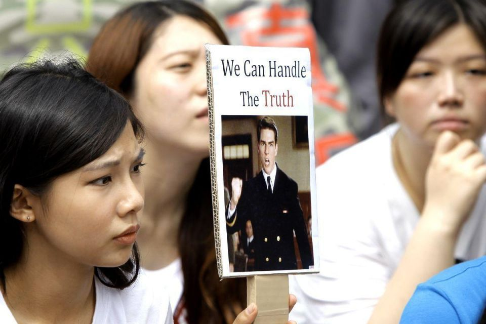 Thousands protest after soldier's death