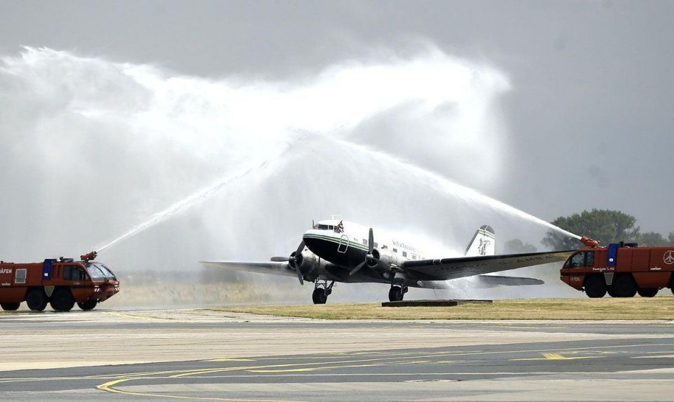 Candy Bomber to fly again