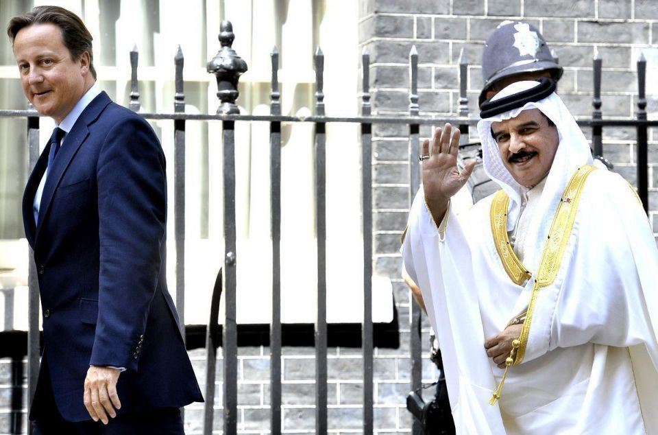 British PM welcomes King of Bahrain