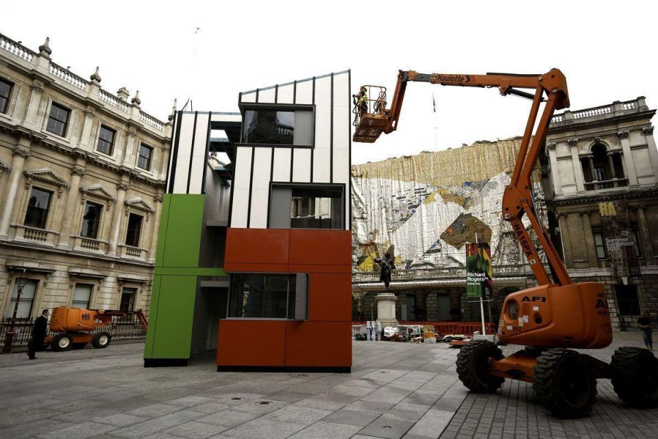 House installed at Royal Academy