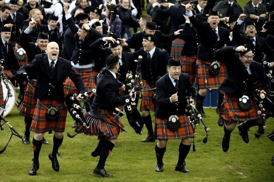 In pictures: The World Pipe Band Championships