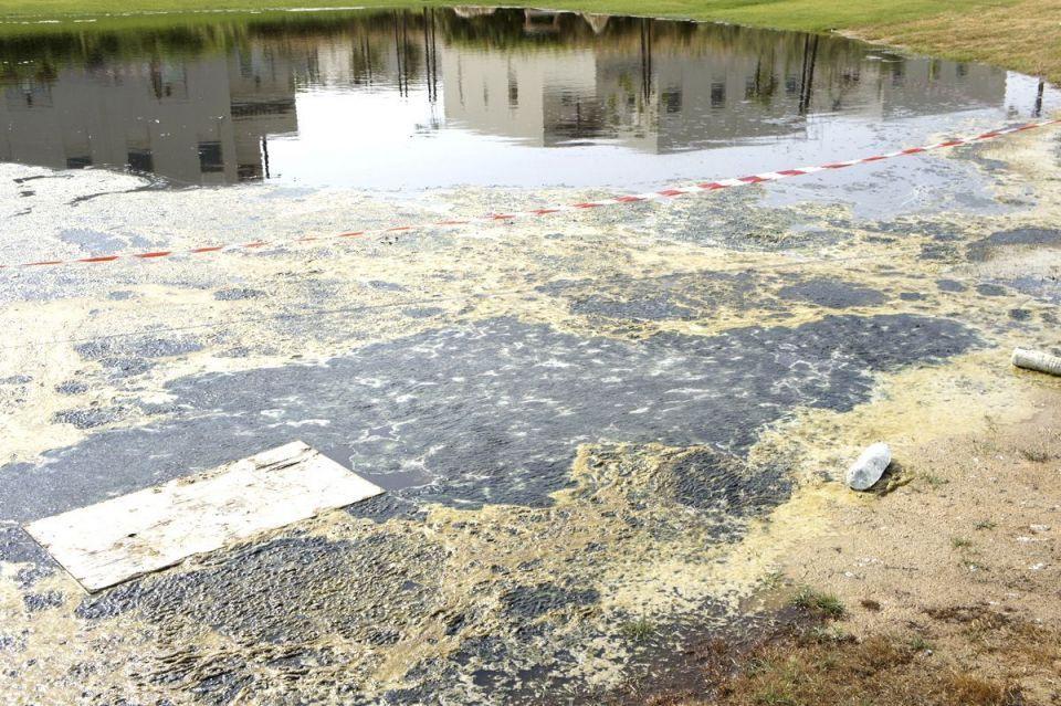 Shock images of flooded new Nakheel development