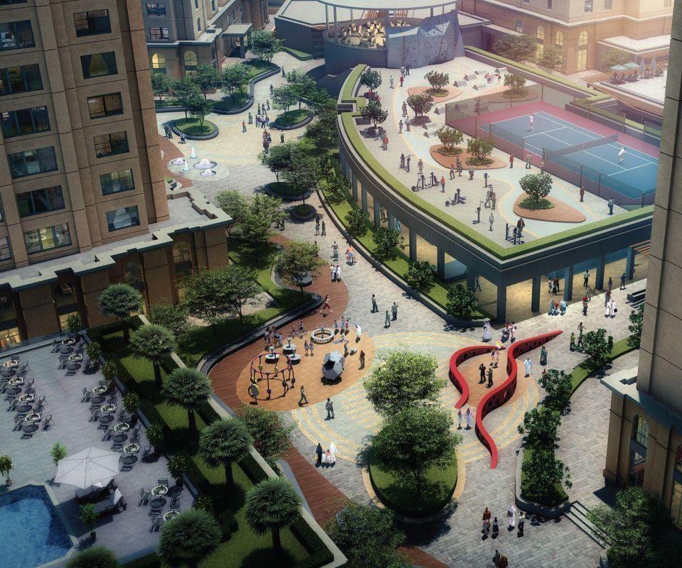 Dubai's DPG plans hotel, amphitheatre for The Walk