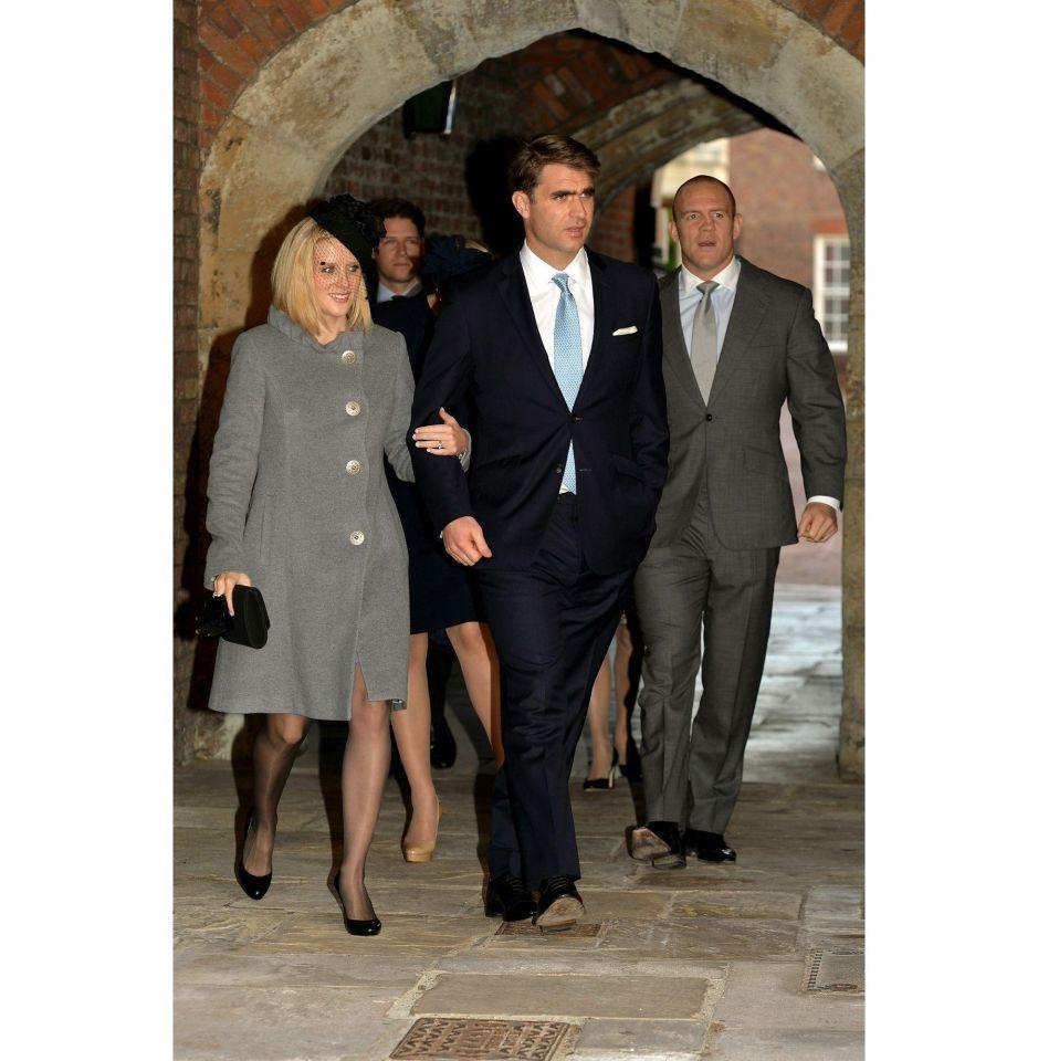 HRH Prince George of Cambridge christened