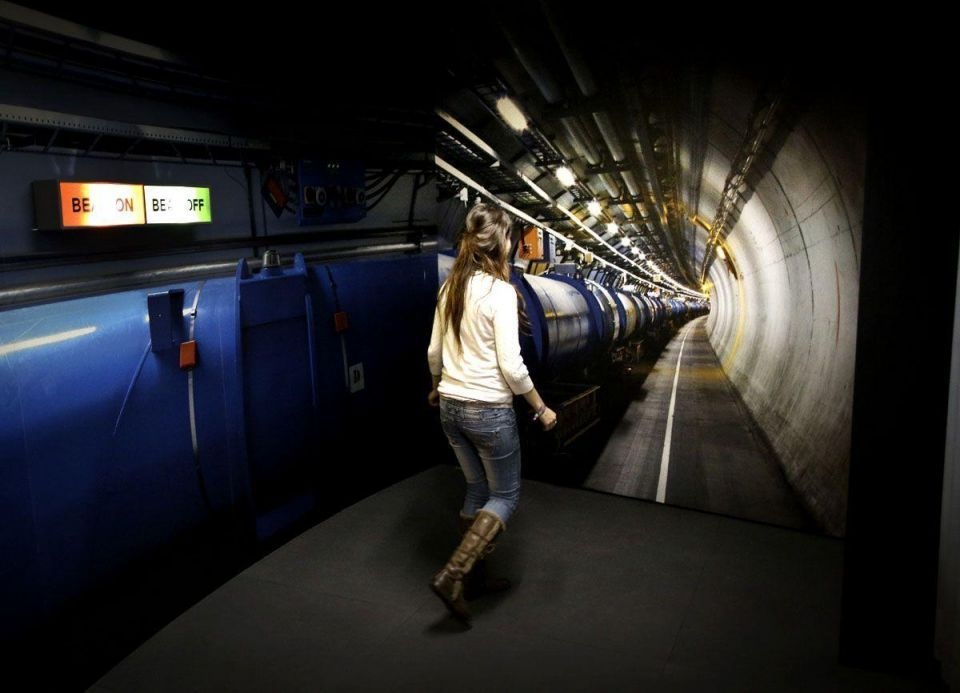 Collider exhibition opens at Science Museum