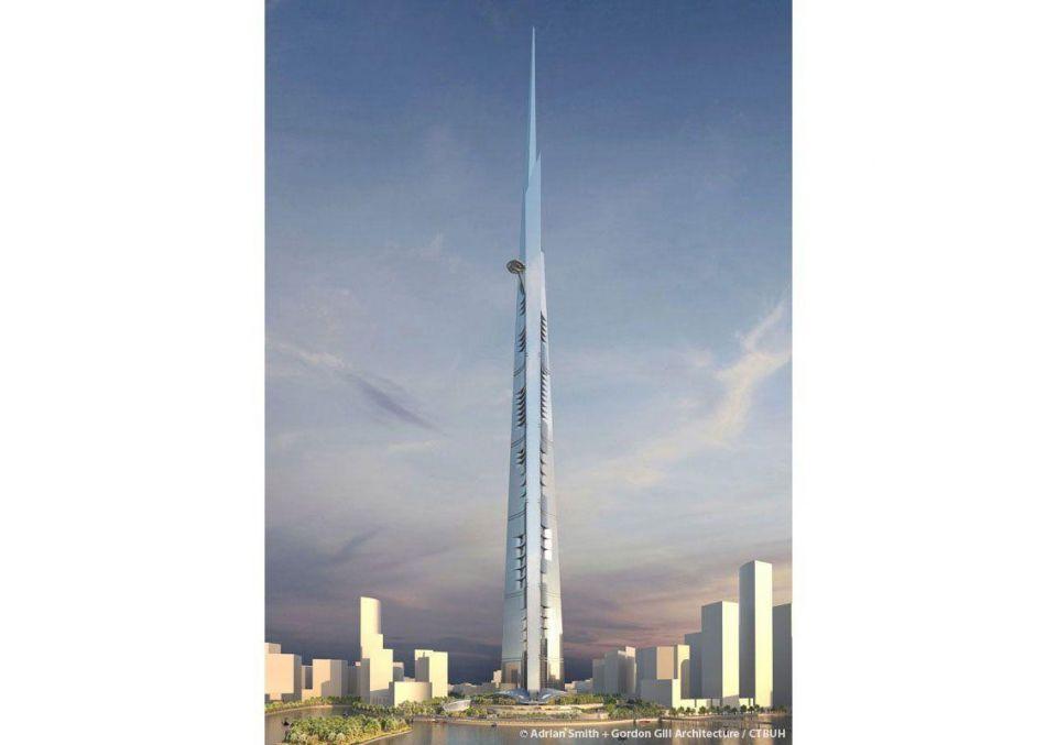 Saudi Kingdom Holding's 1km Jeddah Tower 20% done