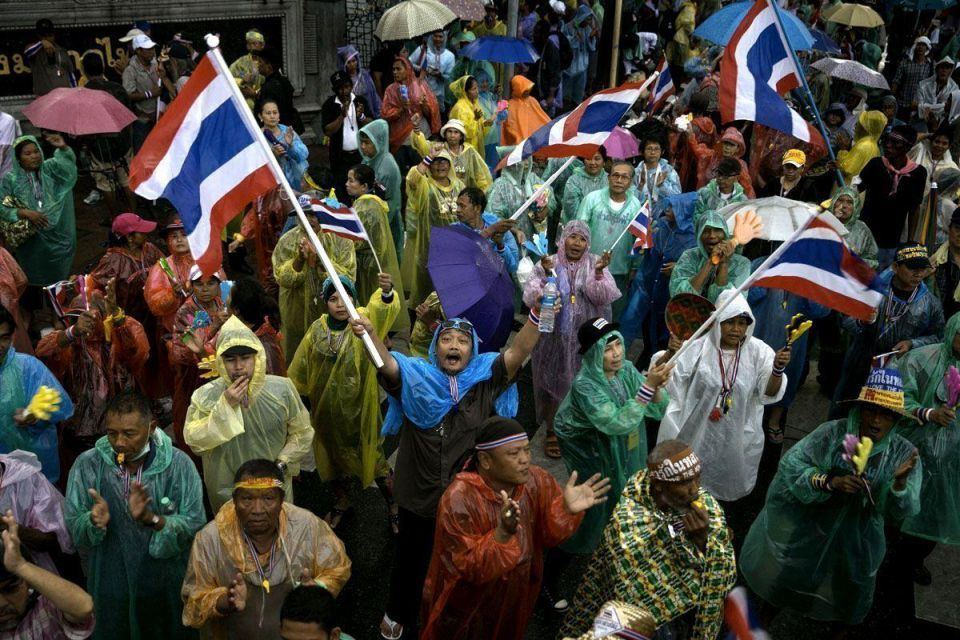 Anti-government protests continue in Thailand