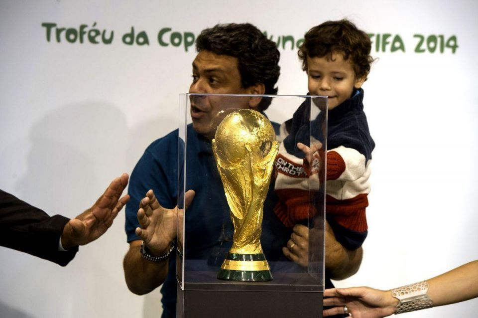 FIFA World Cup trophy arrives in the UAE