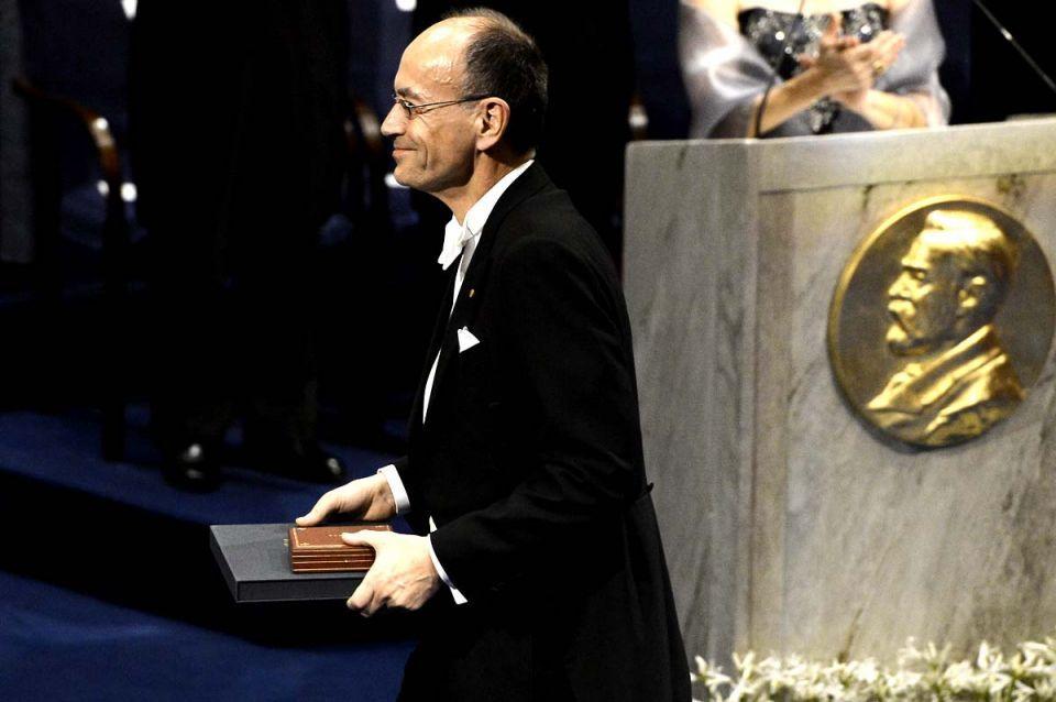 Nobel Prize ceremony in Sweden