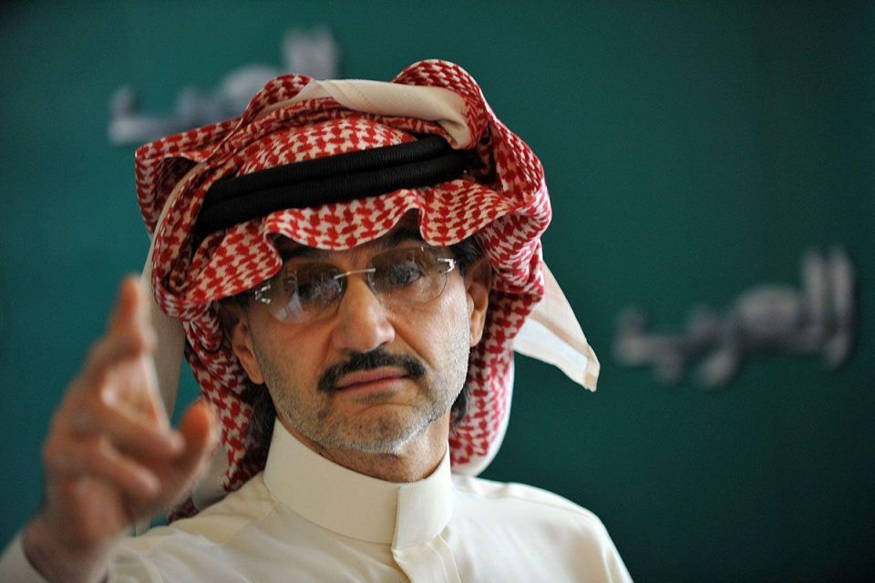 Prince Alwaleed calls for Saudi sovereign fund as oil slides