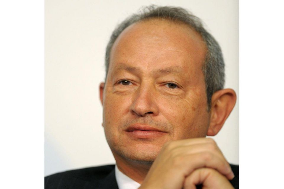 Egypt's tycoon Sawiris says still interested in Telecom Italia